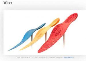 3d принтирани обувки wiivv