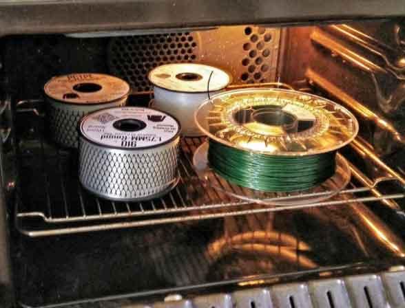 сушене на филамент печка