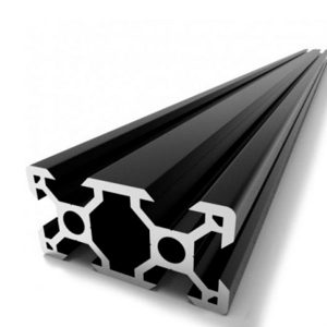 Профил 20×40х500мм  Черен